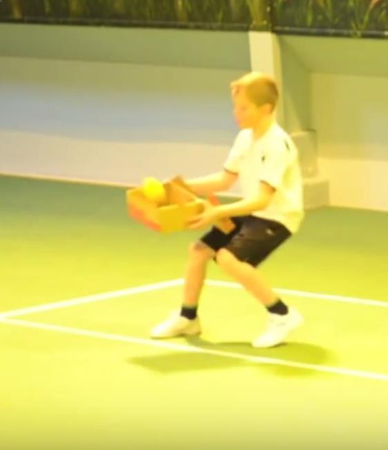 tennis drill shoebox