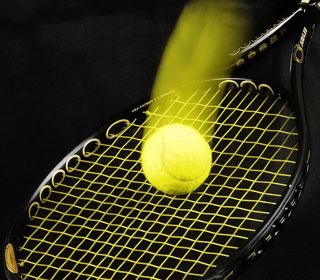 tennis racquet head size string pattern